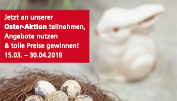 Oster-Aktion Banner (Hase)