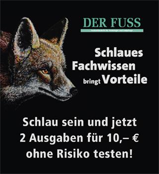 Eigenwerbung Der Fuss Weihnachtsaktion mobile bis 31.12.2020